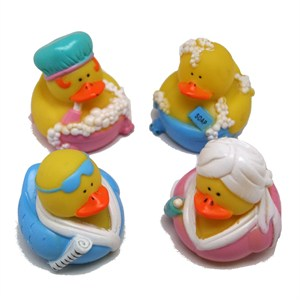 Bathtub Rubber Duckies