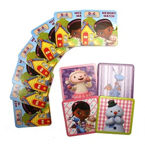 Doc Mcstuffins Floor Size Memory Match Game