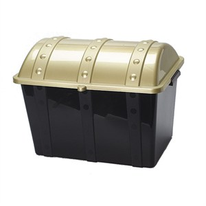 14 Quot Plastic Pirate Treasure Chest