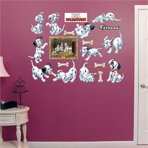 101 Dalmatians Puppy Collection REALBIG Wall Decal