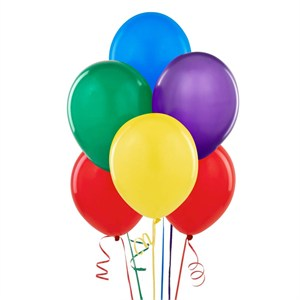 "12"" Assorted Color Balloons"