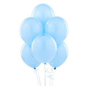 "12"" Baby Blue Balloons"