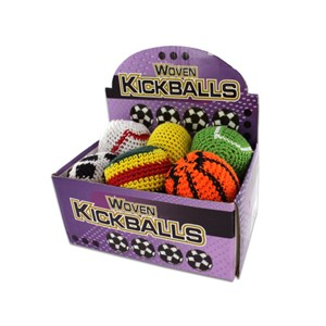 24 Piece Sports Themed Kick Sack Display
