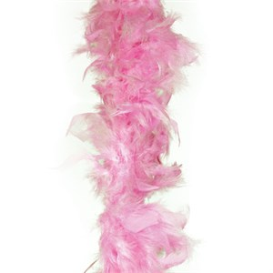 Pink Feather Boa (6' 35 grams)