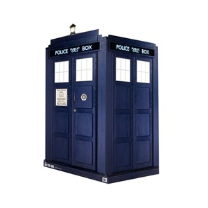 3D Life Size Tardis 2 Doctor Who