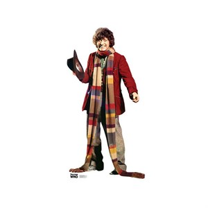 4th Doctor Who Tom Baker Cardboard Cutout