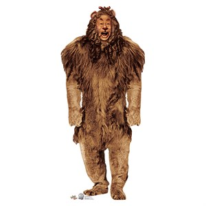 75th Anniversary Wizard Of Oz Cowardly Lion Standup