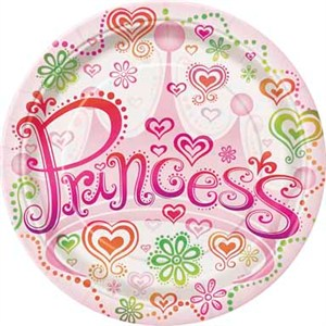 sc 1 st  Party Supplies Delivered & Princess Paper Plates - 8 5/8