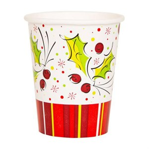 9oz Christmas Cups