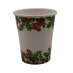 9oz Christmas Paper Cups