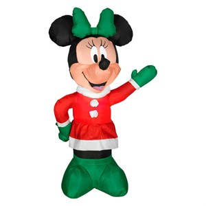 Airblown Christmas Minnie Mouse