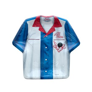 All Star Bowling Shirt Shaped Plates
