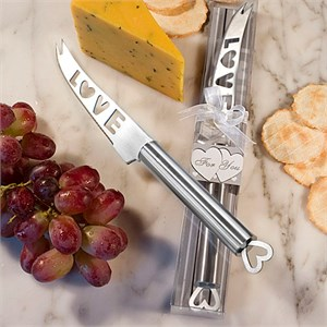 Amore Stainless Steel Cheese Knife Favors