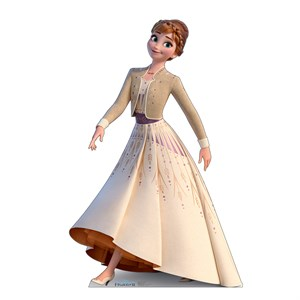 Anna Collector's Edition Frozen 2 Cardboard Standup