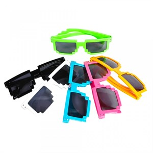 Assorted Color Pixel Sunglasses