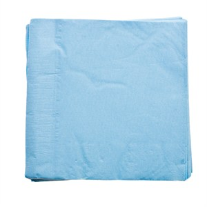 Paper Lunch Napkins - Baby Blue