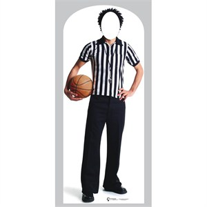 Basketball Referee Stand In-Lifesized Standup