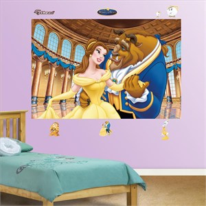 Beauty and the Beast Mural-Fathead