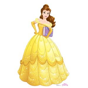 Belle Lifesized Standup