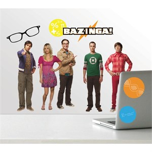 Big Bang Theory Peel And Stick Decal