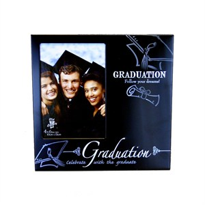 Black Graduation Picture Frame