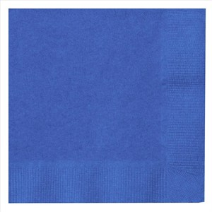 Paper Lunch Napkins - Royal Blue
