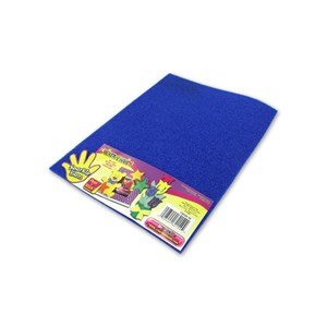 Blue Sparkle Adhesive Foam Craft Sheet