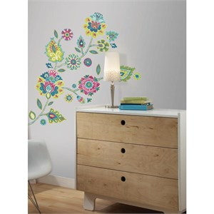 Boho Floral Giant Decal