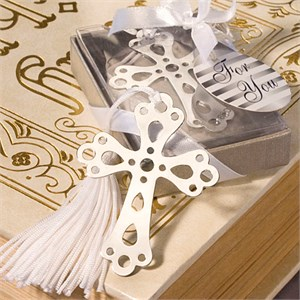 Book Lovers Collection Cross Bookmark Favors