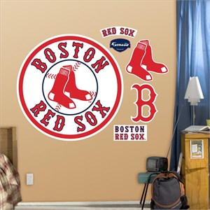 Boston Red Sox Alternate Logo-Fathead