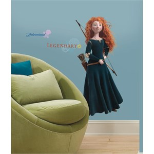 Brave-Merida Peel And Stick Giant Wall Decal