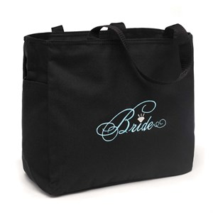 Bride Diamond Tote Bag
