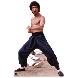 Bruce Lee-Fight Stance Lifesized Standup