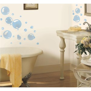 Bubbles Peel And Stick Decal