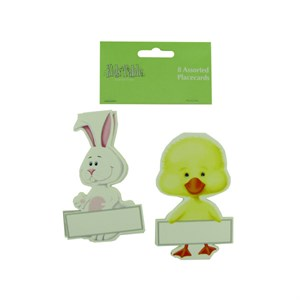 Bunny And Chick Place Cards