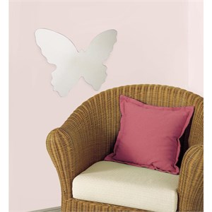 Butterfly Peel And Stick Mirror (Large)