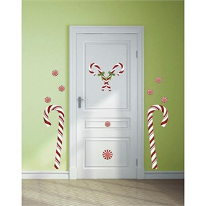 Candy Cane Giant Decal