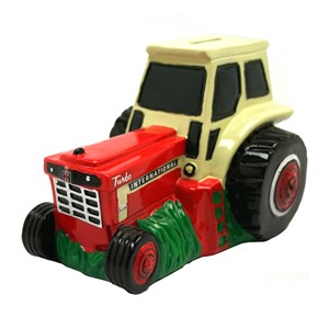 Case International IH Tractor Piggy Bank
