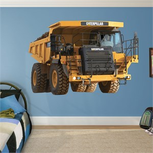 CAT 773 Mining Truck REALBIG Wall Decal