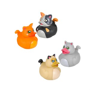 Cat Rubber Ducks