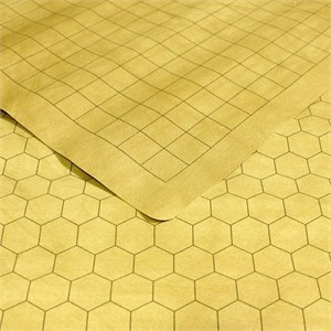 Chessex - Battlemat With 1 Inch Squares Or Hexes
