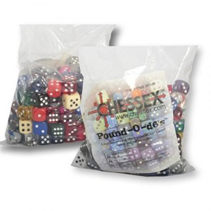 Chessex - Pound Of D6 Dice