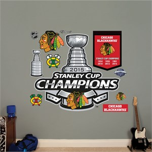 Chicago Blackhawks 2015 Stanley Cup Champions Logo