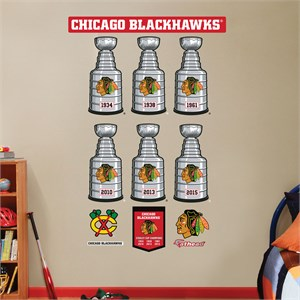 Chicago Blackhawks Stanley Cup Collection
