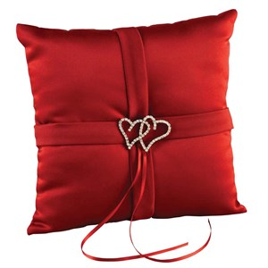 Claret All My Heart Pillow