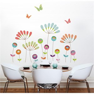 Colourful Pompoms Transfer Decal
