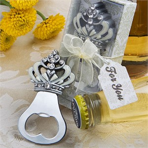 Crown Design Bottle Opener Favors