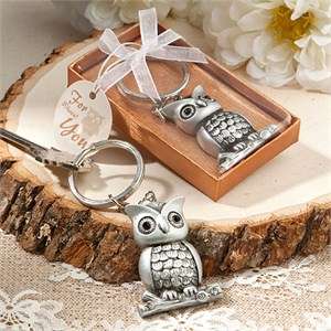 Cute And Useful Owl Keychain Favors