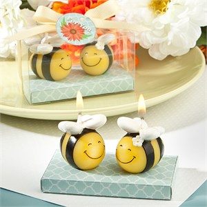 Cute Bee Candles