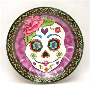 Day Of The Dead Dessert Plate